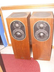Vintage Allison CD8 Tower Loudspeakers
