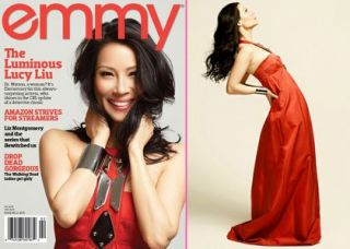 Emmy Magazine Mag Lucy Liu Johnny Lee Miller DVD Elementary New 2013