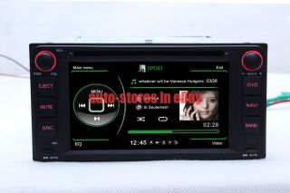 In Dash Car DVD Player GPS Navigation Radio Stereo iPod Touch Screen for Toyota