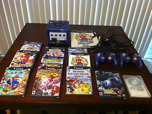 Nintendo Pokemon GameCube Console Game Lot Mario Party Super Smash Bros A