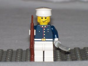 Lego Minifig USMC WW2 Dress Marine Uniform Soldier