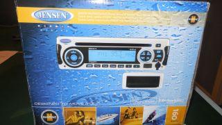 Jensen Marine Boat Radio Stereo MSR3012 Am FM CD iPod USB Sirius Satellite Ready