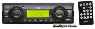 New Pyle Marine Am FM WB Radio USB SD Stereo Player Receiver Aux in for  iPod