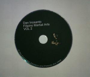 Dan Inosanto Filipino Martial Arts Vol 2 Training DVD