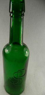 JSP in Dark Rolling Rock Green Joseph s Pederson Beer for Health 10