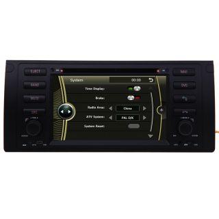 Car GPS Navigation Radio HD Touch Screen TV DVD Player for 95 03 BMW 5 Seris E39