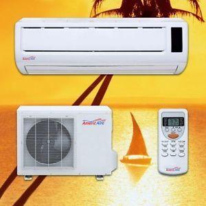 9000 BTU 19 SEER Inverter Heat Pump Air Conditioner AC Wall Split Ductless Mini