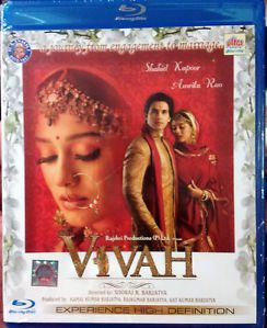Vivah Original Blu Ray Bluray Hindi Movie Shahid Kapoor Amrita Rao