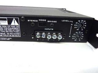 Peavey IPS150 IPS Dual Channel Power Amplifier 75 Watts RMS