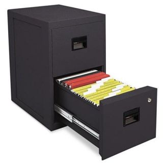 Sentry 6000B Fire Safe 2 Drawer Insulated Vertical File 17 1 2W x 23 1 4D X