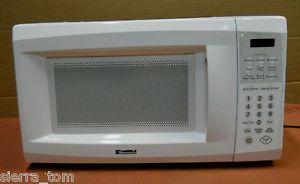 Kenmore Pop 700 Watt Countertop Microwave Oven White 69072 0 7 CuFt 17 ...
