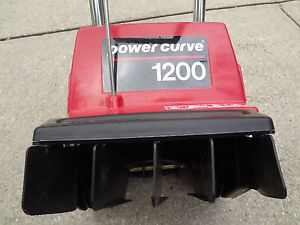 Toro 1200 Powercurve Electric Snowthrower Snow Blower with Extension Cord
