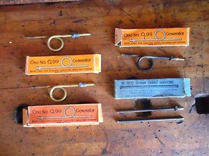 5 Vintage Coleman Generators 3 Q99 2 Q77S Quick Lite Lamps Lanterns w Boxes