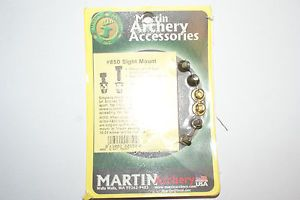 Martin Archery Recurve Bow Sight or Quiver Mounting Kit Hardware
