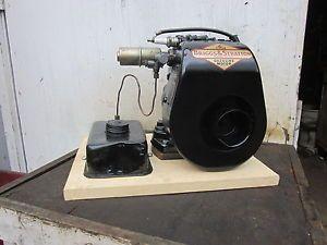 Briggs Stratton WMG Generator Motor Vintage Gas Engine Hit N Miss Antique Old