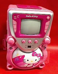 Sakar 68109 HK Wal Sanrio Hello Kitty CD G Karaoke System with Screen