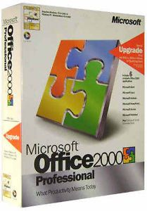 Details about Microsoft Office 2000 Professional Upgrade _ Free Gift