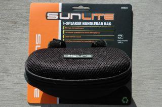 iSpeaker Handlebar Bag  Stereo Player Bike Bicycle Black NEW