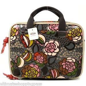 New Fossil Key per Netbook Laptop Case Briefcase Flower SL2914729 Up to 11""
