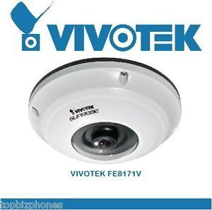Vivotek 360 Degree Fish Eye Outdoor IP Panoramic Network Security Camera FE8171V