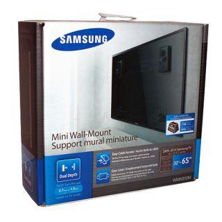 "New Samsung Mini Wall Mount Bracket for 2009 2013 Flat Panel TV 65"" 32 42 50 55"