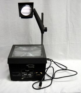 Bell Howell Overhead Still Picture Projector 3870A with Working Bulb