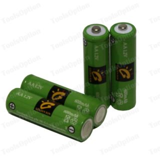 20 x AA Ni CD 600mAh Solar Lights Rechargeable Battery