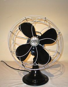 Antique Delco Vintage Electric Fan Refurbished and Working