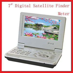 "Portable Digital Satellite Finder Meter DVB s TV Signal Receiver 7"" LCD Monitor"