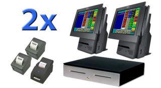 Premium Restaurant POS System w Full Robust Software Complete System L K