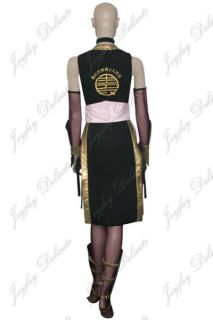 Dead or Alive Kasumi Black Cosplay Costume Halloween Clothing XS XXL