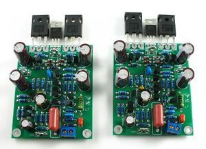 Class AB MOSFET L7 Audio Power Amplifier Boards Kit Dual Channel 300 350W X2