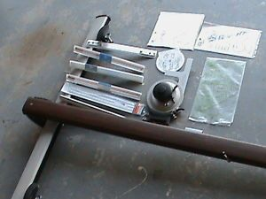 Vemco V Track Mark XII Drafting Machine Triangular Scales Rulers 32 36 42