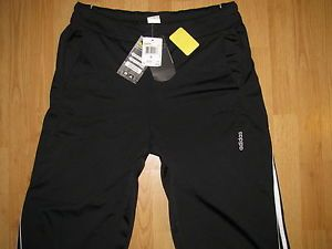 "New WT Mens Adidas Training Pants XL "" Tricot Pant "" Black Running s 5"