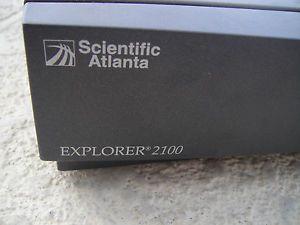 Scientific Atlanta Explorer 2100 Cable Box with Power Cable No Remote