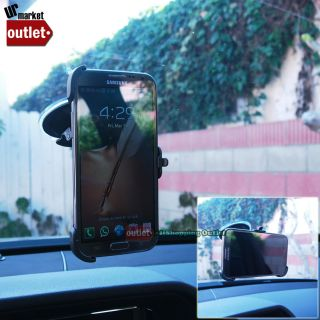 Windscreen Windshield Car Truck Mount Holder for Samsung Galaxy Note 2 GT N7100