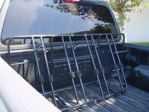4 Bicycle Bike Rack Truck Pick Up Bed Mount Carrier New
