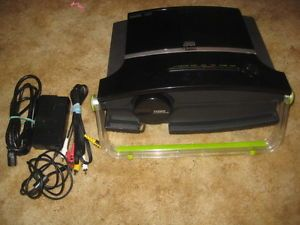 Tiger Electronics Zoombox LCD Projector AV Cables Manual Carry Bag Bundle