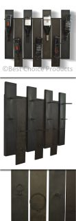Wine Rack Wall Mount Decorative Art Decor Modern Design Wine Holder New