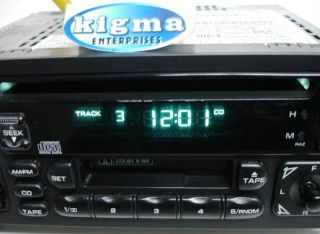 Chrysler Dodge Jeep 89 Up CD Cassette Player Combo RAZ Base Sound Tested 874DZG