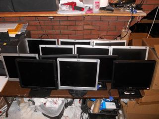 "Refurbished Grade A A 17"" Flatscreen LCD Monitor HP Acer Dell Lot Available"