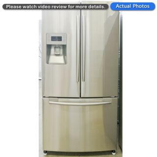 Samsung Stainless Steel 26 CU ft French Door Refrigerator RF268ABRS 9991