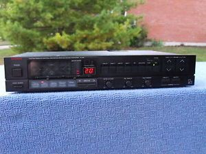 Neat Luxman F 105 System Remote Control Center Surround Sound Amplifier Dolby