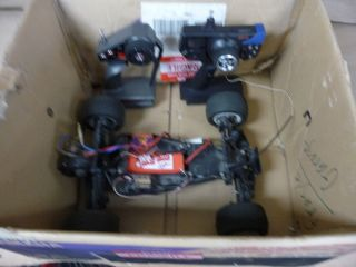 Futaba Remote Control Car Lot with Two Remotes and EXTRAS