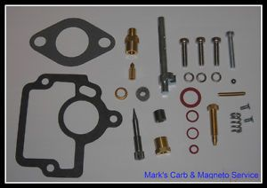 Farmall H Tractor Carburetor Repair Kit with Throttle Shaft