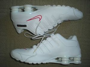 Nike Shox NZ White Running Training Shoes 378341 Men's US Size 13 Sneakers