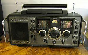 Sanyo RP 8880 Shortwave Radio Receiver 9 Bands