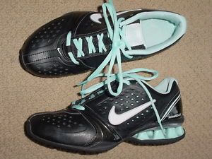 Womens Nike REAX Rock Star Black Teal Running Training Shoes 6 5 M