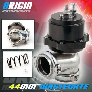 44mm V Band Universal Turbo Charger External Wastegate Waste Gate 15 19PSI Kit