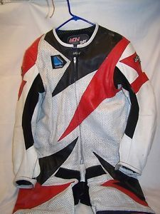 Agv Sport Hi Tech Safety Riding Gear Kevlar Suit Designed in Italy Size 56